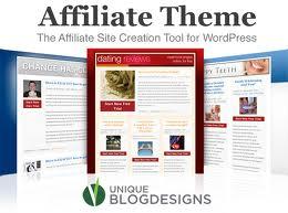 affiliate marketing advertising site design